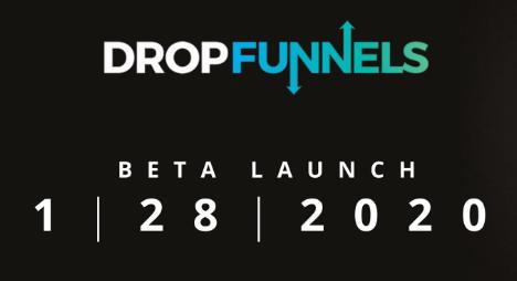 DropFunnels Beta Launch Logo